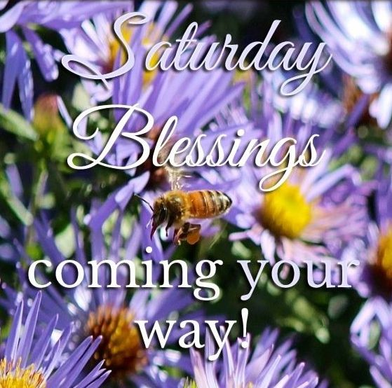Picture: Saturday Blessings Coming Your Way