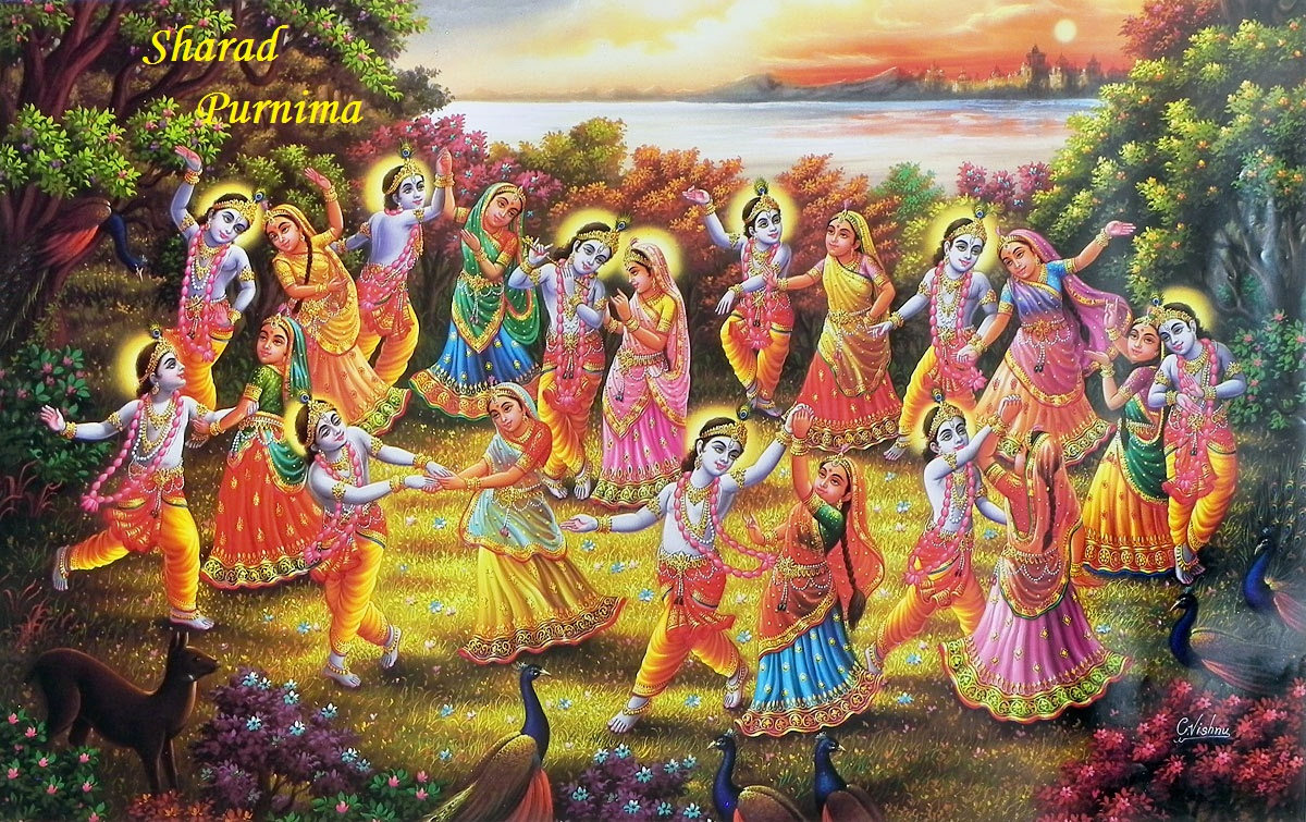 sharad purnima pictures images graphics