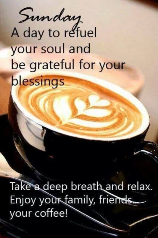 Sunday A Day To Refuel Your Soul