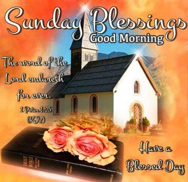 Sunday Blessings Good Morning Image