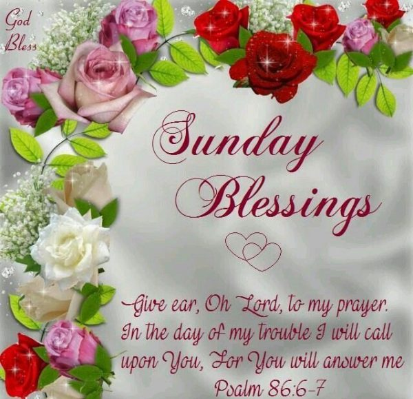 Sunday Blessings Pic