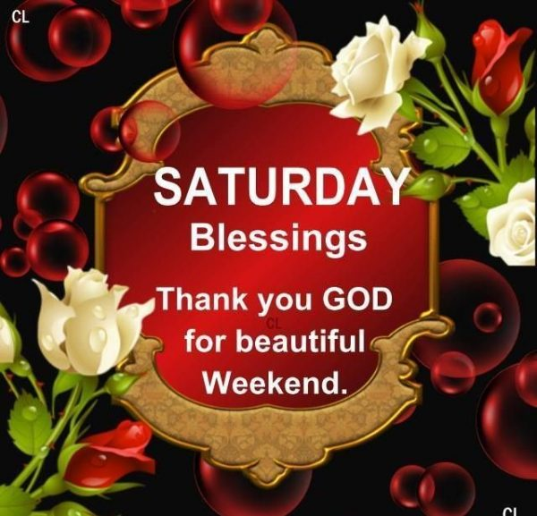 Picture: Thank You God For Beautiful Weekend