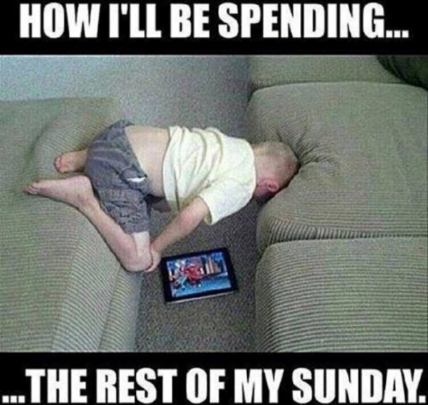 The Rest Of My Sunday