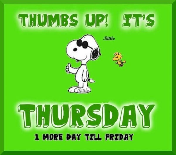 Thumbs Up Its Thursday