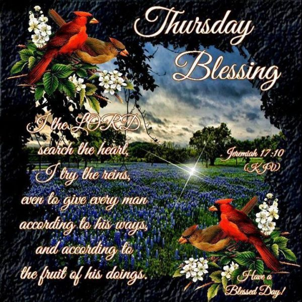 Thursday Blessing Image