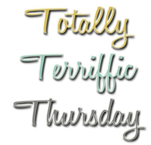 Totally Terrific Thursday