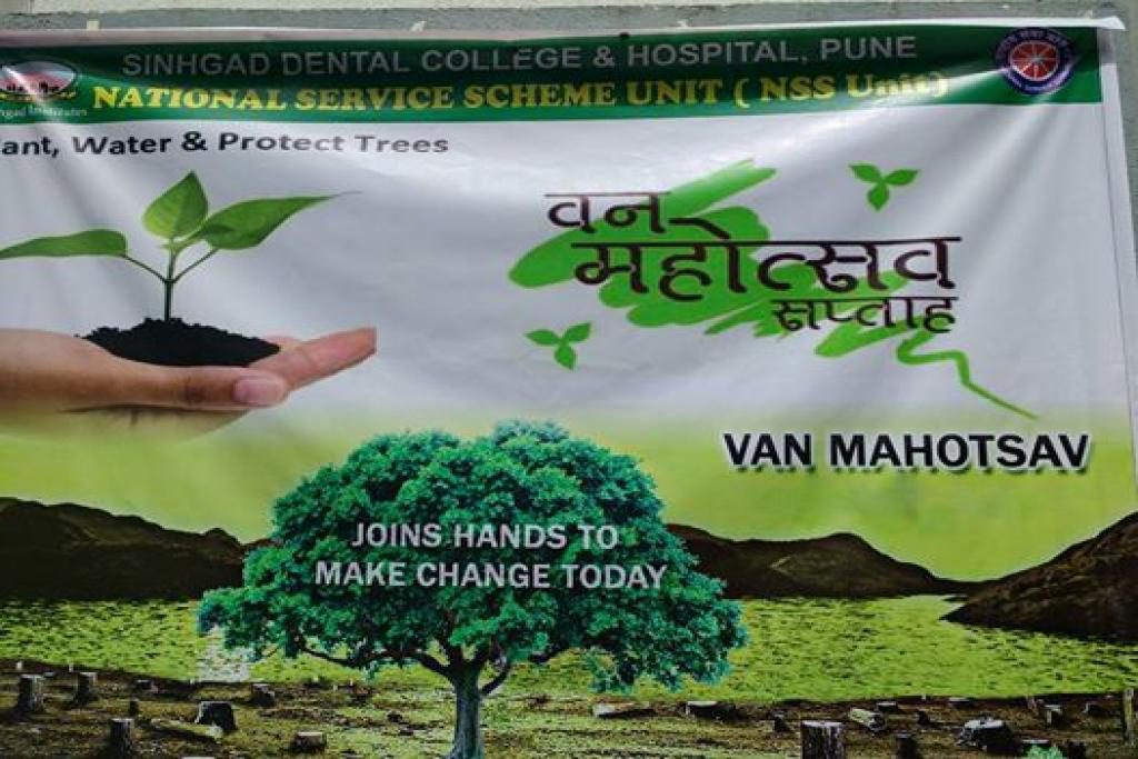van mahotsav day Van mahotsav was launched in the year 1950 by shri kanhaiyalal  van  mahotsav, a week long festival of tree planting is organised every year in the  month of.