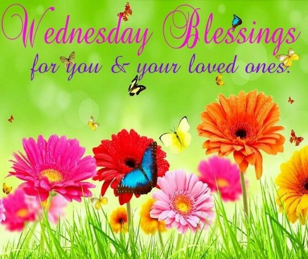 Wednesday Blessings For You And Your Loved Ones