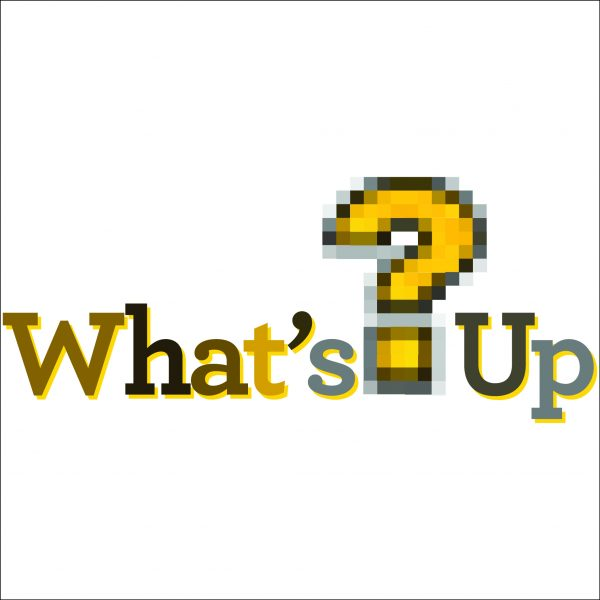 What's Up? Podcast Button