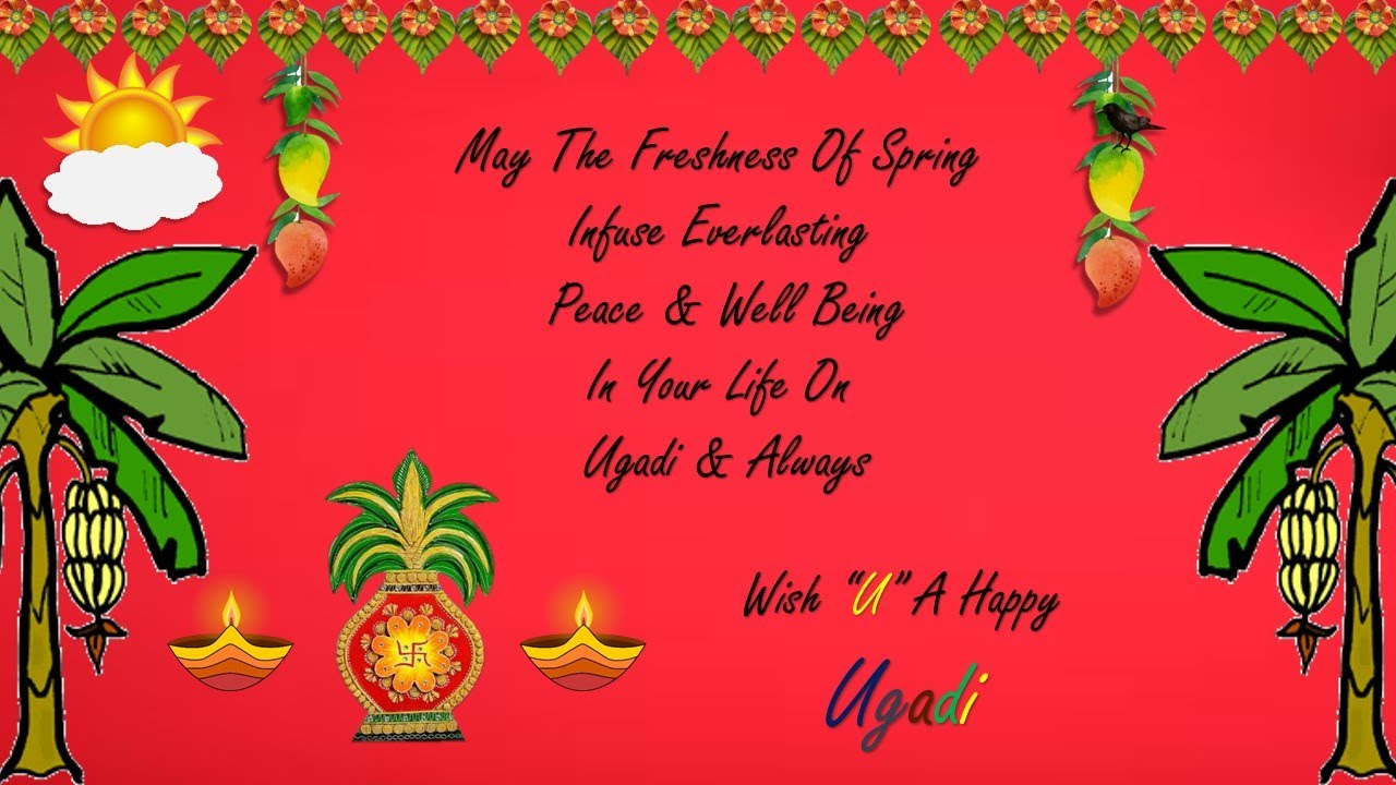 Ugadi pictures images graphics wish you a happy ugadi image m4hsunfo Image collections