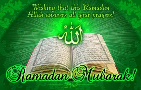 Picture: Wishing That This Ramadan Allah Answers All Your Prayers