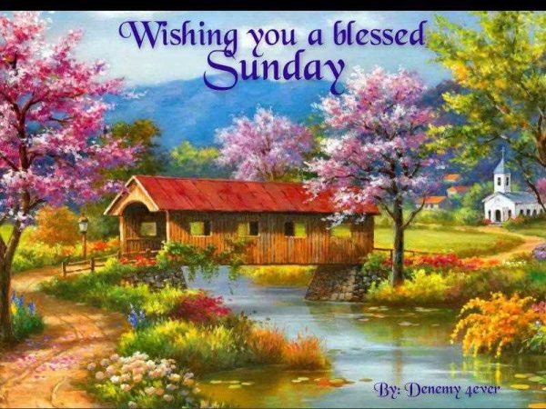 Wishing You A Blessed Sunday
