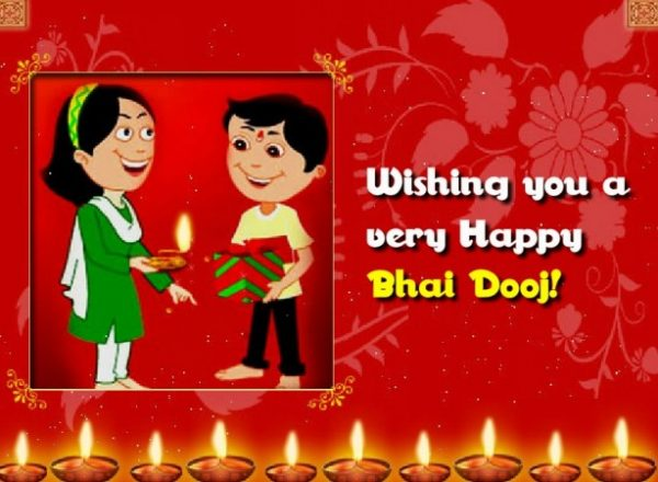 Wishing You A Very Bhai Dooj