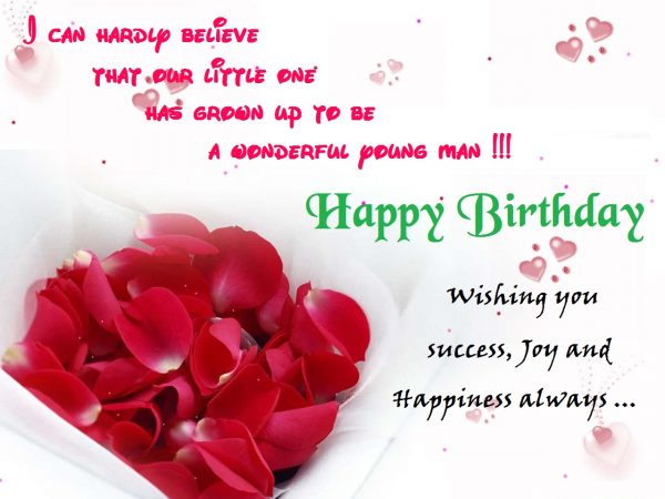 Wishing You Success Joy And Happiness Always