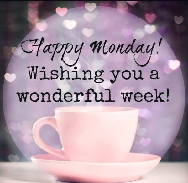 Wishing you a wonderful week