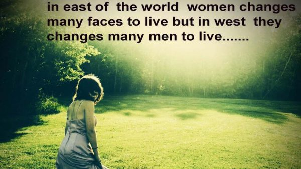 Women Changes Many Faces To Live