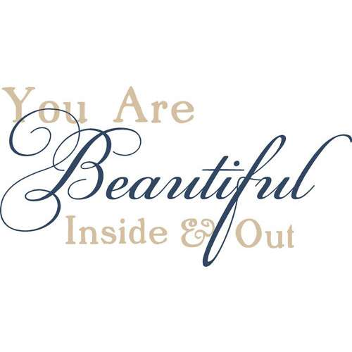 You Are Beautiful Inside