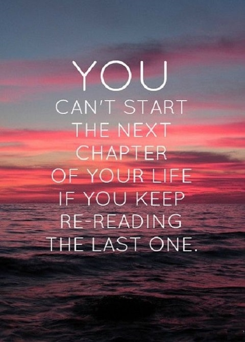 You cant start the next chapter