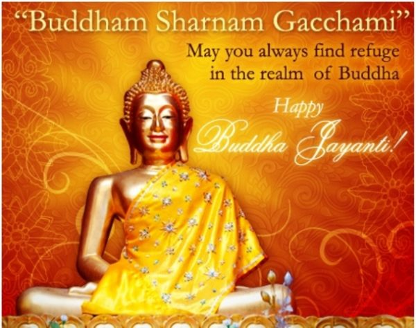 Picture: Happy Buddha Jayanti Wishes