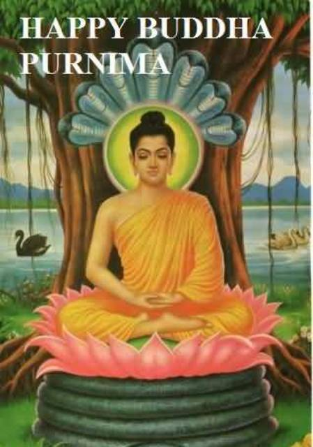 Image Of Happy Buddha Purnima