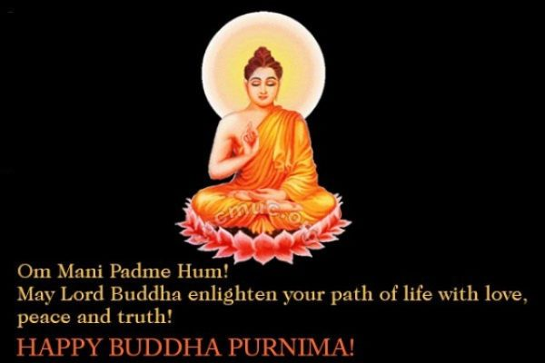 May Lord Buddha Enlighten Your Path Of Life