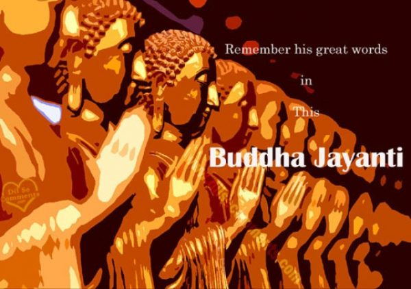 Picture: Remember His Great Words In This Buddha Jayanti