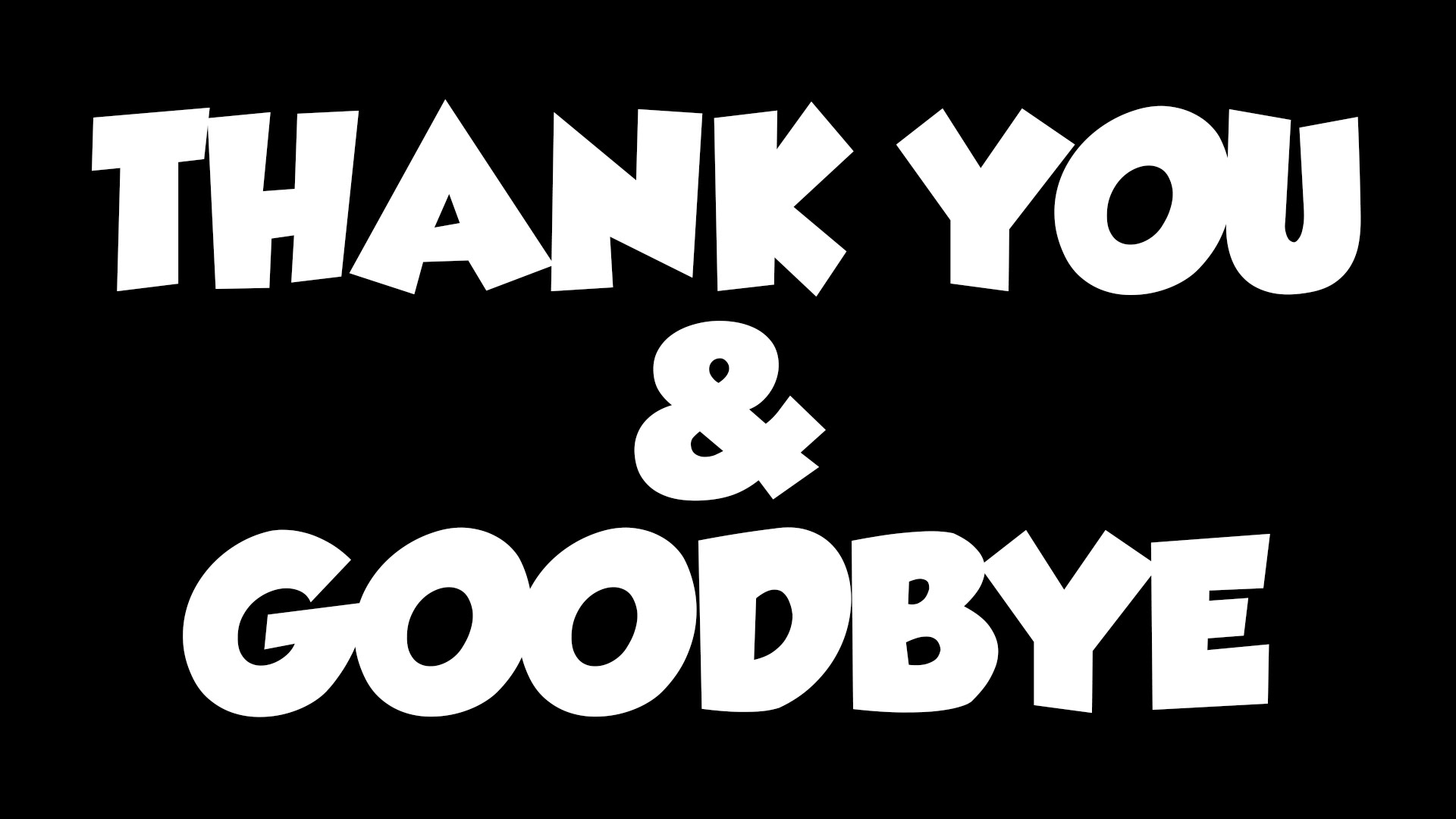 Thank You & Goodbye - DesiComments.com