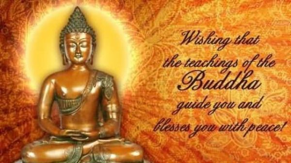 Wishing THat THe Teachings Of The Buddha Guide You