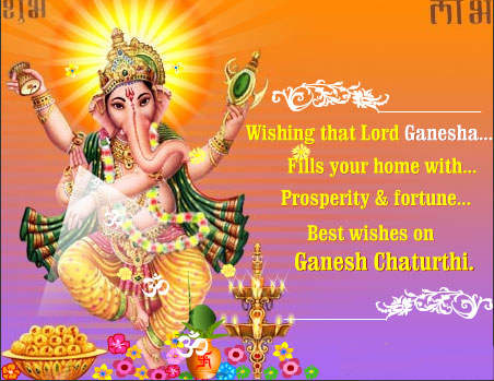 Wishing That Lord Ganesh Fills your home with