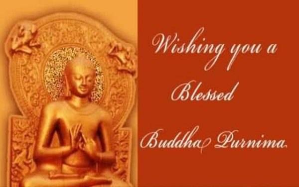 Wishing You A Blessed Buddha Purnima!