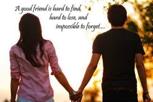 Picture: A Good Friend Is Hard To Find Hard To Lose