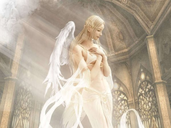 Attractive Image Of Angel
