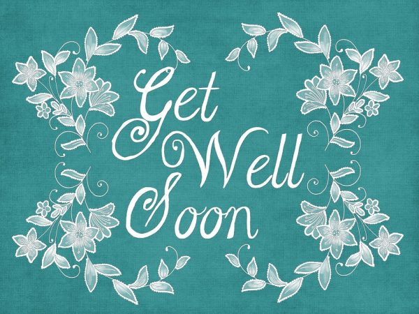 Attractive Pic Of Get Well Soon