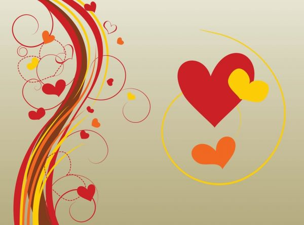 Beautiful Hearts Design Pic