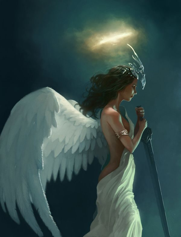 Picture: Beautiful Image Of Angel