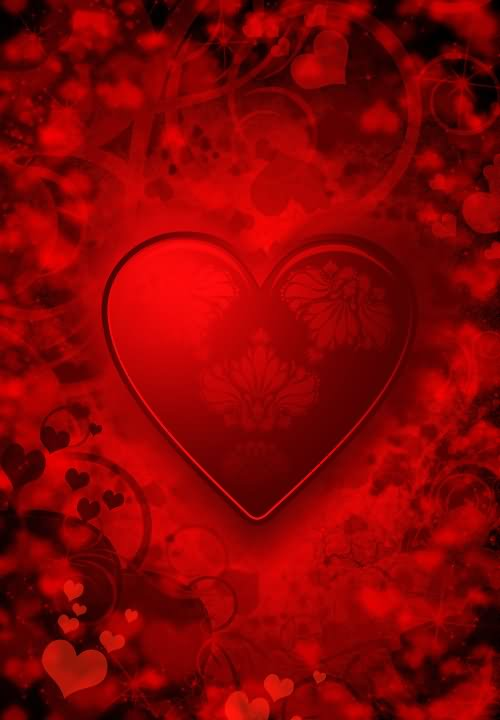 Beautiful Red Heart Picture