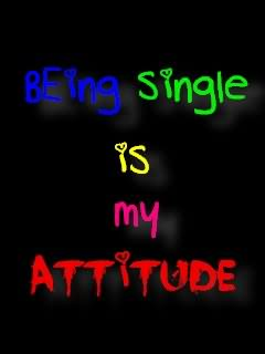 Being Single Is My Attitude Graphic
