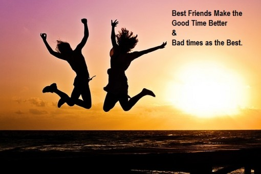 Picture: Best Friends Make The Good Time Image