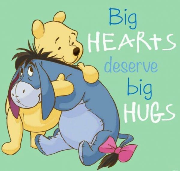 Picture: Big Hearts Deserve Big Hugs
