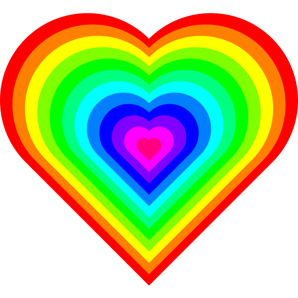 Colorful Heart Image