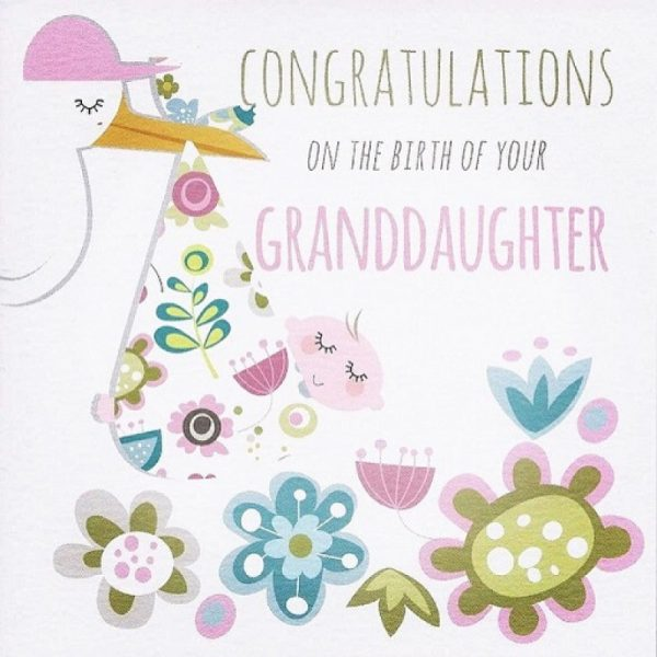 Congratulations On The Birth Of Your Granddaughter