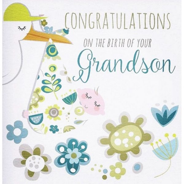 Congratulations On The Birth Of Your Grandson