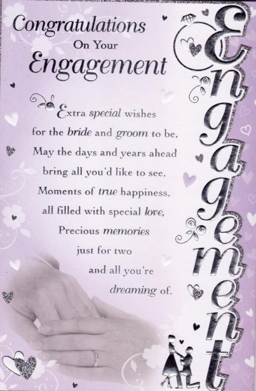 Picture: Congratulations On Your Engagement Image