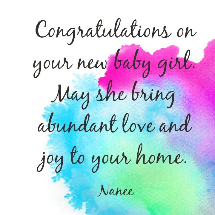 congratulations on your new baby image