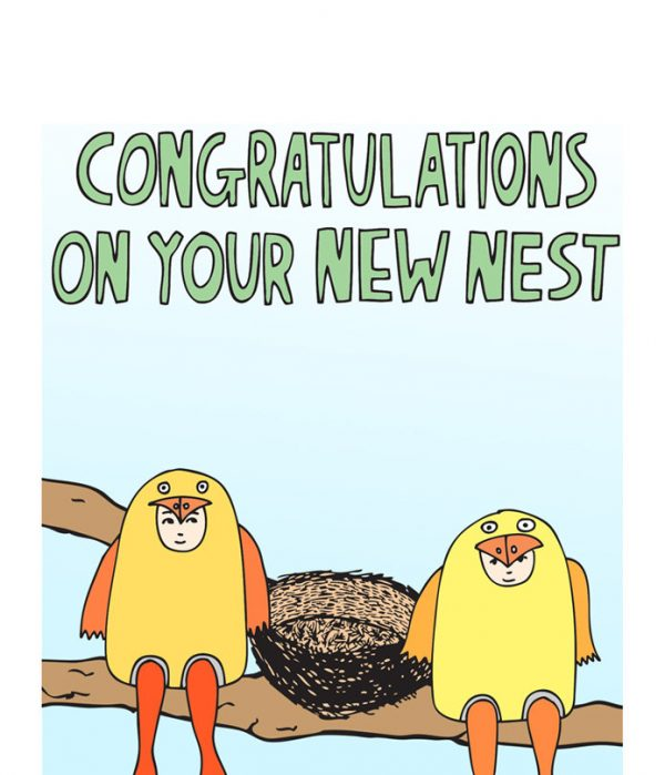 Congratulations On Your New Nest