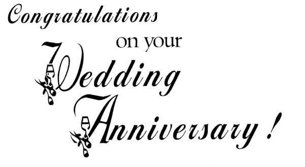 Congratulations On Your Wedding Anniversary