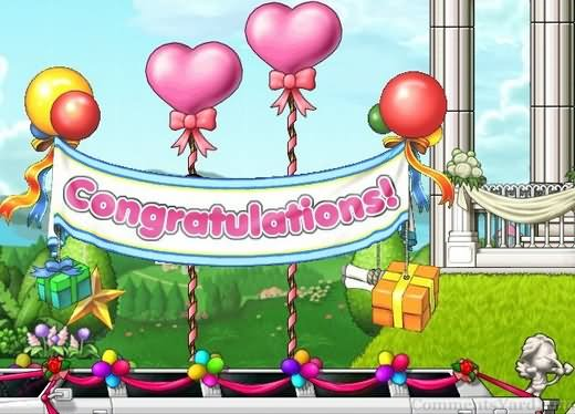 Congratulations Party Graphic