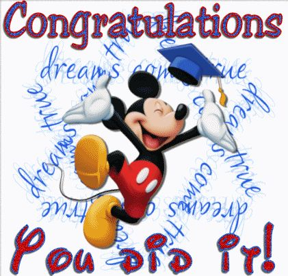 Congratulations You Did It Image