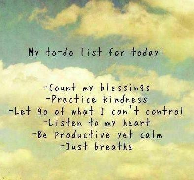 Count My Blessings Practice Kindness