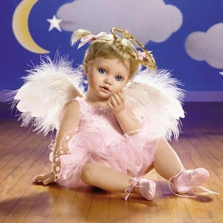 Cute Angel Baby Doll